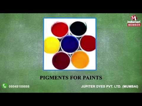 Organic and High Performance Pigments by Jupiter Dyes Pvt. Ltd., Mumbai