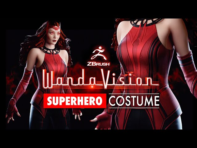 Creating Superhero Costumes in ZBrush in 10 minutes