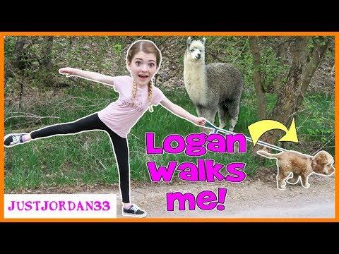 I Let My Dog Walk Me For A Day! / JustJordan33