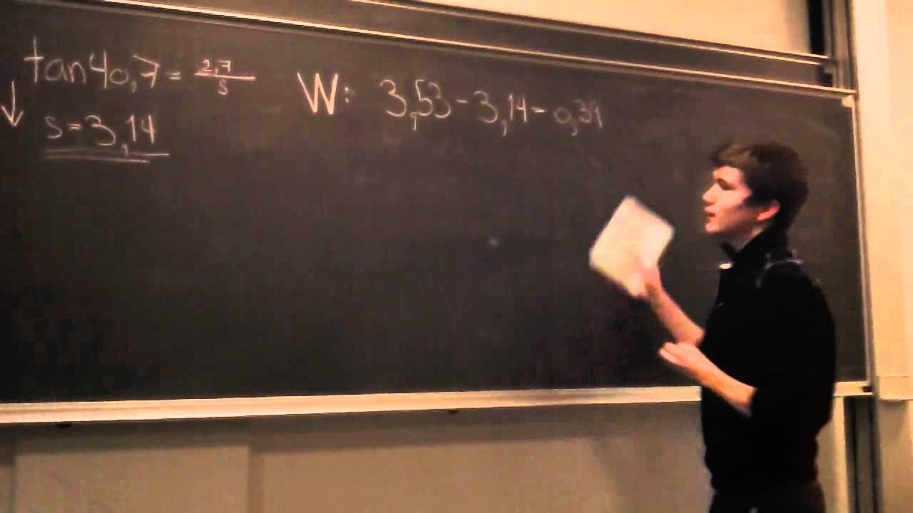 Alex og Ahmed løser opgave 1A (gruppe 4)