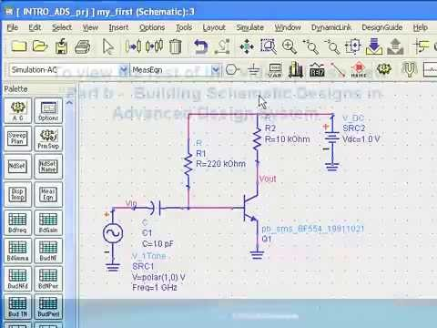Building Schematic Designs in ADS (Part 1) - YouTube
