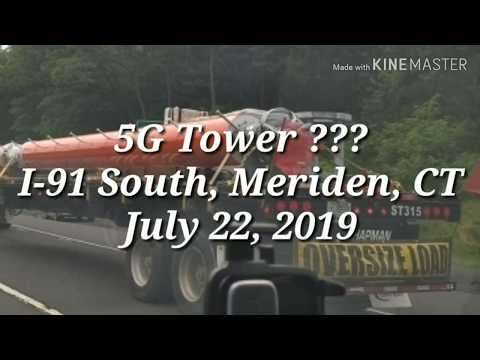 5G Tower??? • I-91 South • Meriden CT • 07/22/19