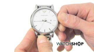 emporio armani ladies watch ar1854