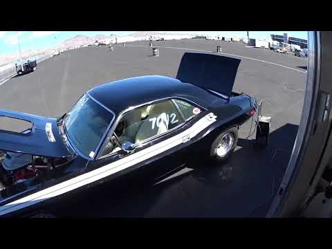 LVMS Dragstrip 4 Wide Lanes are Ready. 71 Dodge Challeger 440