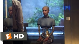 Ex Machina (2/10) Movie CLIP - Breaking the Ice (2015) HD