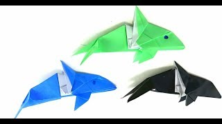 origami dolphin instructions ~ art and craft projects easy | 180x320