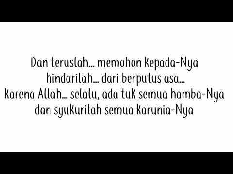 Allah bersamamu No Music+Lirik