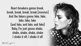 Taylor Swift - Shake It Off (Lyrics) 🎵