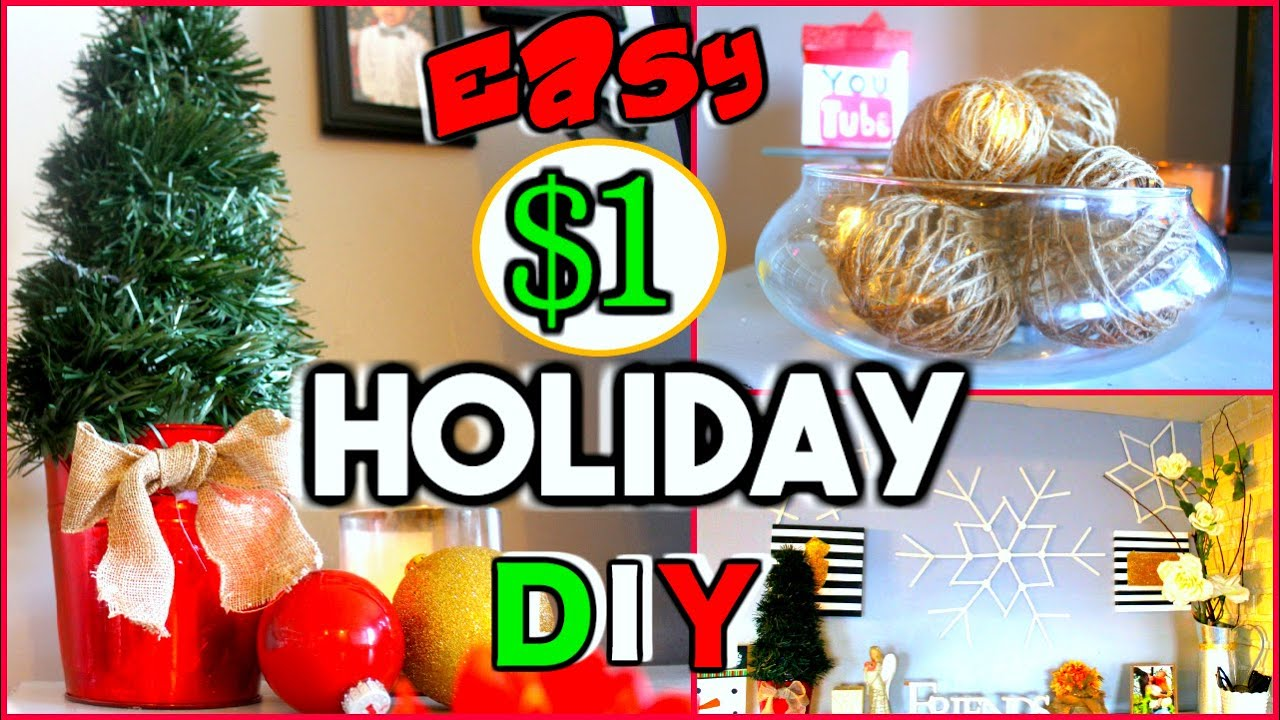 Must try dollar tree diy 39 s easy holiday home room for Christmas diy room decor