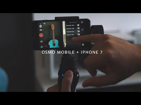 DJI Osmo Mobile + Apple Iphone 7 | REVIEW Fernando Cesar