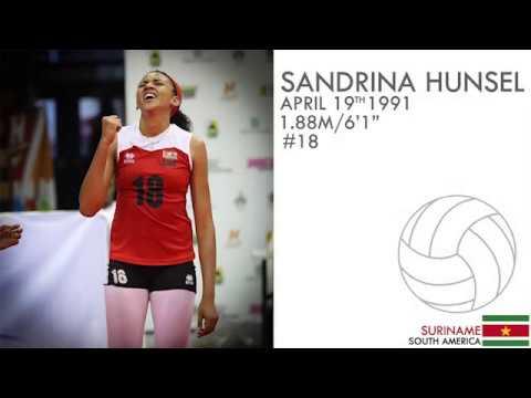 Volleyball Highlights Sandrina Hunsel #18|  vs Haiti & Martinique