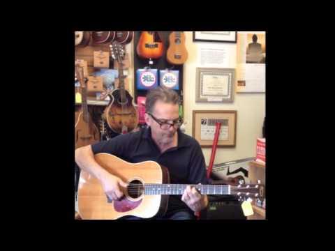 Martin Guitar Shenandoah 1990 Played  Gordon Stone, Randolin Music, Burlington, VT