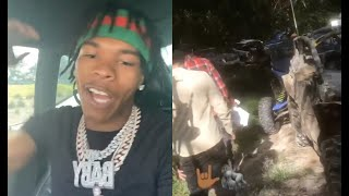 Lil Baby Buys His Whole Hood ATVs Just To Go Racing In The Jungle