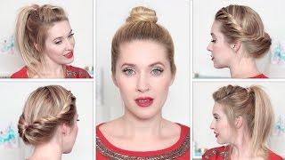 видео Красивые прически с собранными волосами