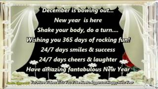 Goodbye December Happy New Year Wishes Greetings Sms Quotes Sayings Wallpapers Whatsapp