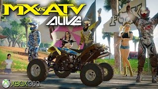 MX vs. ATV Alive  - Xbox 360 / Ps3 Gameplay (2011)