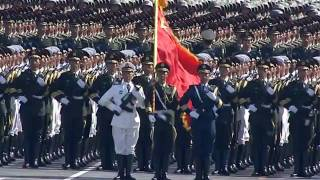 China military parade 2009-live-troop formations on foot(international version)