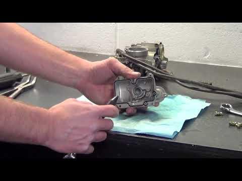 How to clean Honda CRF Carbs - FCR Flatslide