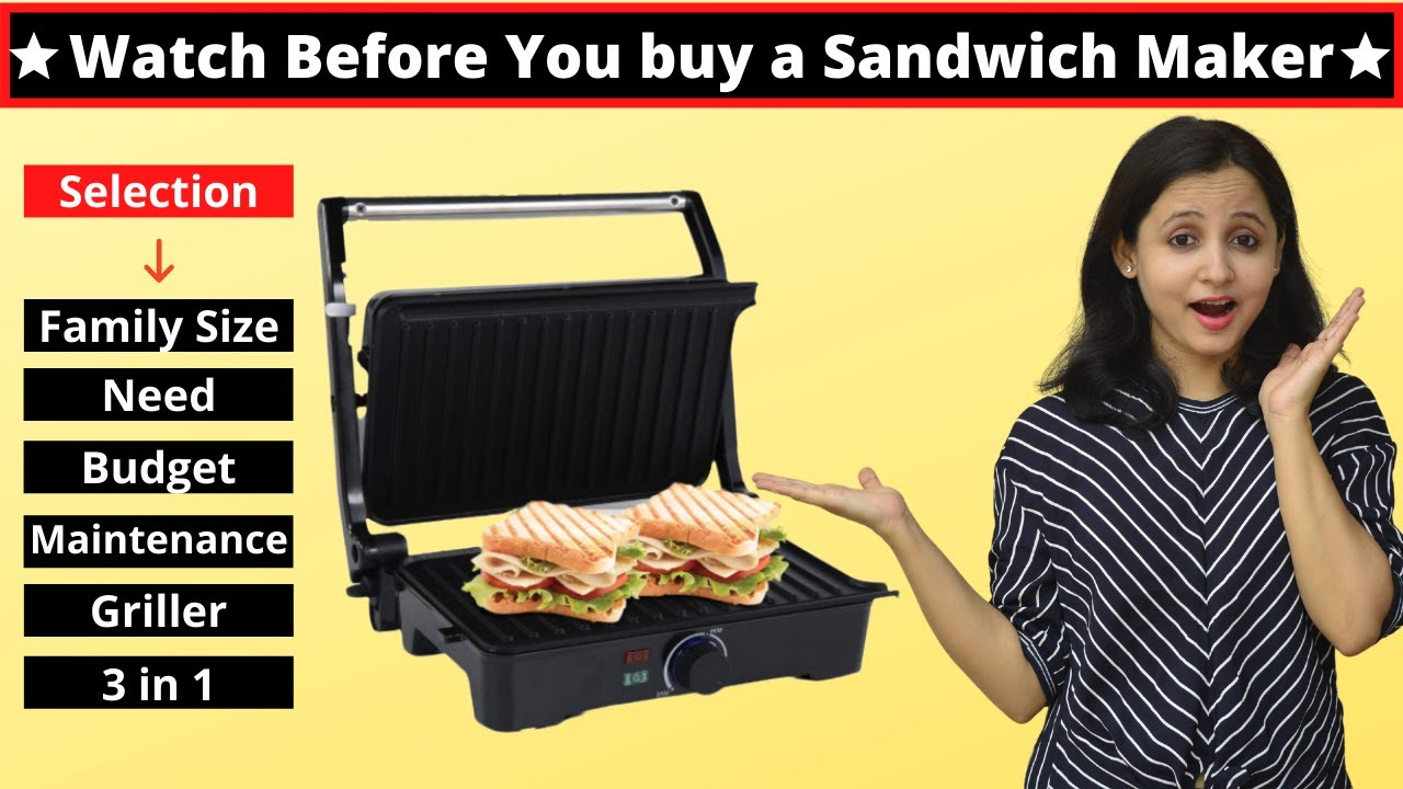 Comparison of Different Sandwich Makers  - Which One to Buy | कौनसा सैंडविच मेकर खरीदे | Urban Rasoi