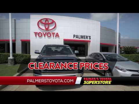 Palmers Toyota   2016 Toyota Annual Clearance Event   Truck Specials    Duration: 0:31. Palmers Toyota 4,208 Views