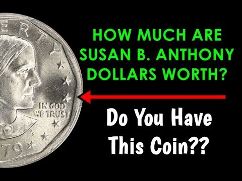 Roll of 20 Susan B Anthony 1980-D SBA $1 Dollar Coins in Tube