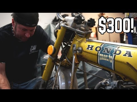 $300 Honda Trail 70 Barn Find!