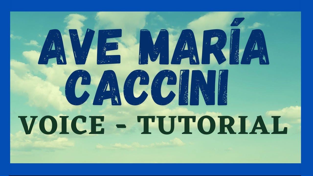 💫 Cómo CANTAR el Ave María de CACCINI_Vavílov_How to sing