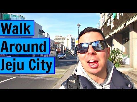 Jeju Island - Walking Around Jeju City Doing Errands