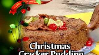 Christmas Cracker Pudding - Grace Foods Creative Cooking Christmas Series