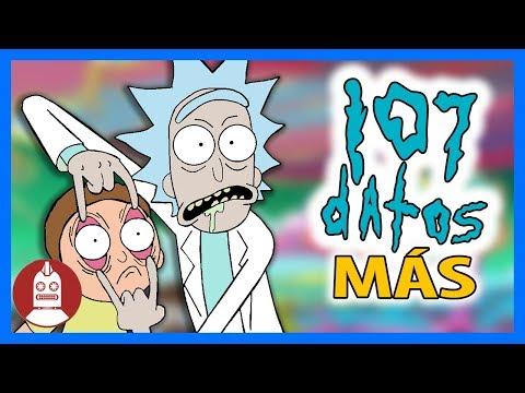 107 Datos MÁS De Rick & Morty Que DEBES Saber (Atómico #165) en Átomo Network