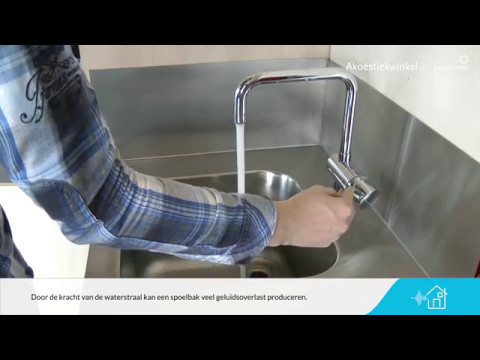 Stop Wasbak Keuken : Spoelbak of wasbak stiller maken met ontdreuning akoestiekwinkel