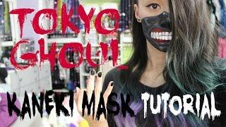 Tokyo Ghoul | Kaneki Mask  Makeup Tutorial