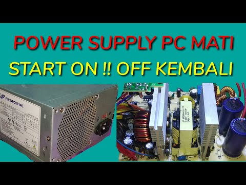 CARA MEMPERBAIKI POWER SUPPLY PC