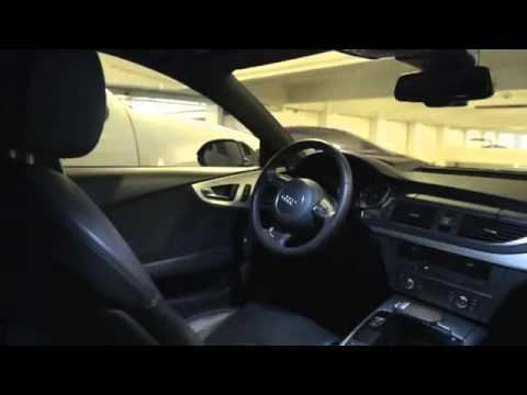 Audi Piloted Parking Audis Self Parking Car YouTube - Audi self parking
