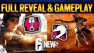 Full Reveal & Gameplay - Mozzie & Gridlock - 6News Live - Rainbow Six Siege