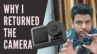 Why Returned DJI Osmo Action Camera   Unboxing Review for DJI Action Camera India Delhi