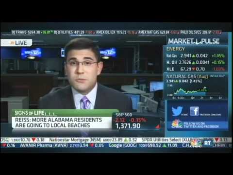 Max Reiss talks Alabama's economy on CNBC's Street Signs, July 5, 2012
