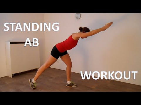 Standing Ab Workout – 10 Minute Standing Abs Workout Routine Without Equipment For Beginners