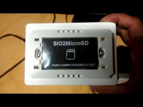 Finalización del proyecto SIO2MicroSD para ATARI de 8 bits :)