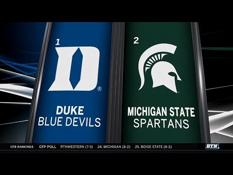 Duke vs. Michigan State - Men's Basketball Highlights