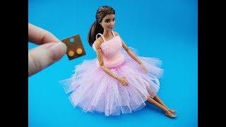 5 DIY Barbie Hacks & Craft - Tutu, Shower Cap, Handheld Vacuum etc