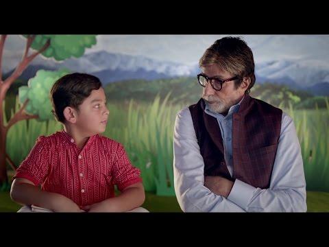 Ad 43  Arash with Amitabh Bachchan as 'Jadugar'  Swachh Bharat Mission