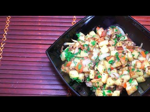 🔴 Spicy Fried Potatoes - Aloo Fry - Aloo Jeera - Vegan Recipes - Mild Cumin Potatoes