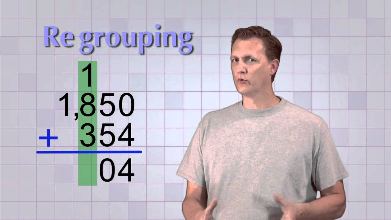 Math Antics Multi Digit Addition Youtube