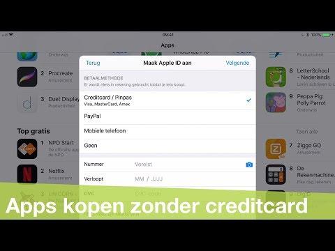 apps kopen zonder creditcard