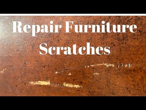 Furniture Scratch Repair