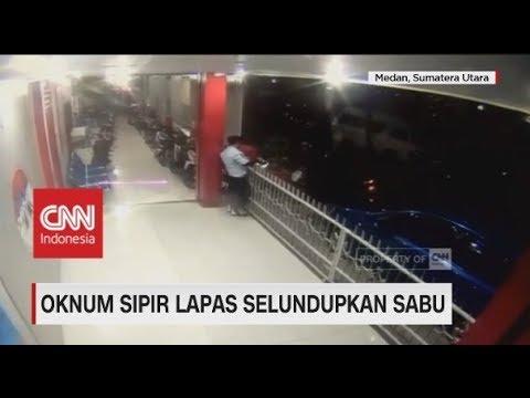 Oknum Sipir Lapas Selundupkan Sabu Terekam Kamera CCTV Mp3