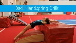 Back Handspring Drills » Bouncing & Open hips
