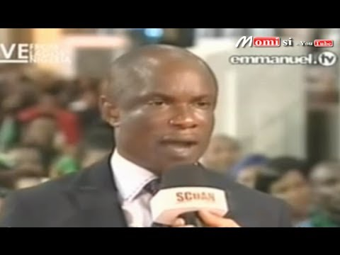 "SCOAN 15/06/14: The Glory Of God ""I Was Man Handled, Trashed & Squeezed By Poverty"" Emmanuel TV"