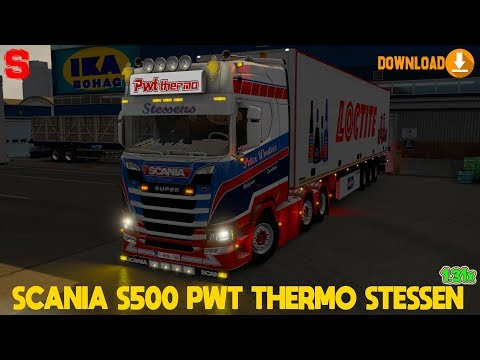 SCANIA S500 PWT THERMO STESSENS [1.31x] - SiMoN3 ETS2 (+download)